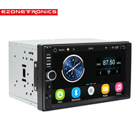Support DAB 2 Din Car Radio Player 7 GPS Navigation Bluetooth Android 6 0 Car MP5