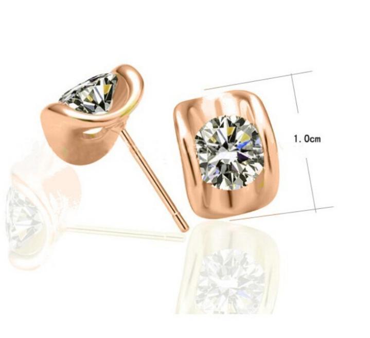 17089fb74c21 OMH al por mayor comprar 5 pair off20 % de oro 18kt cristales austríacos de  oro