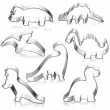 Новинка форма для печенья из нержавеющей стали в форме динозавра