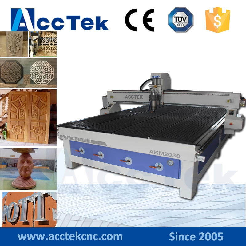 Factory supply 2030 cnc cutting machine wood /tree/die/foam carving machine
