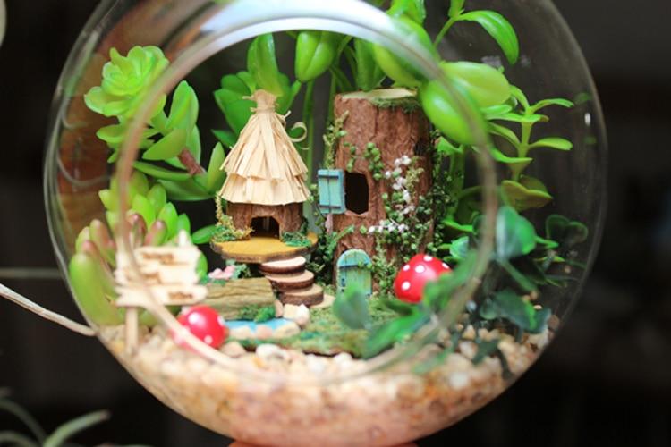 Casas de Boneca diy modelo de casa de Toy Tipo : Wooden Toys