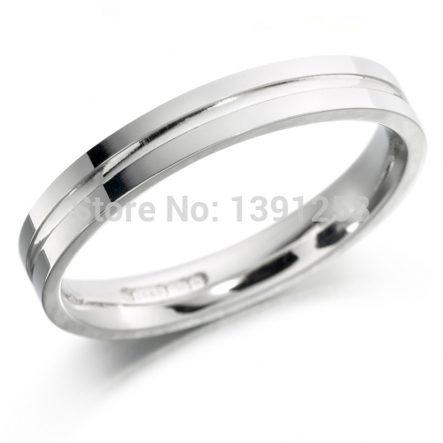 4mm Width Clic Comfort Fit Pattern Palladium Pd950 Wedding Band Ring Jewellery Both For Men Women