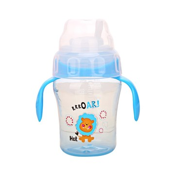 240ml Baby Drinkware Delicate Sippy Cup with handle Infant Kids Learning Drinking Water Milk Fruit Juice Cup Kids Training Cups conjuntos casuales para niñas