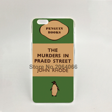 07154 penguin murders praed street Hard transparent Cover Skin Back Case for iPhone 4 4S 5 5S 5C 6 6S Plus 6SPlus