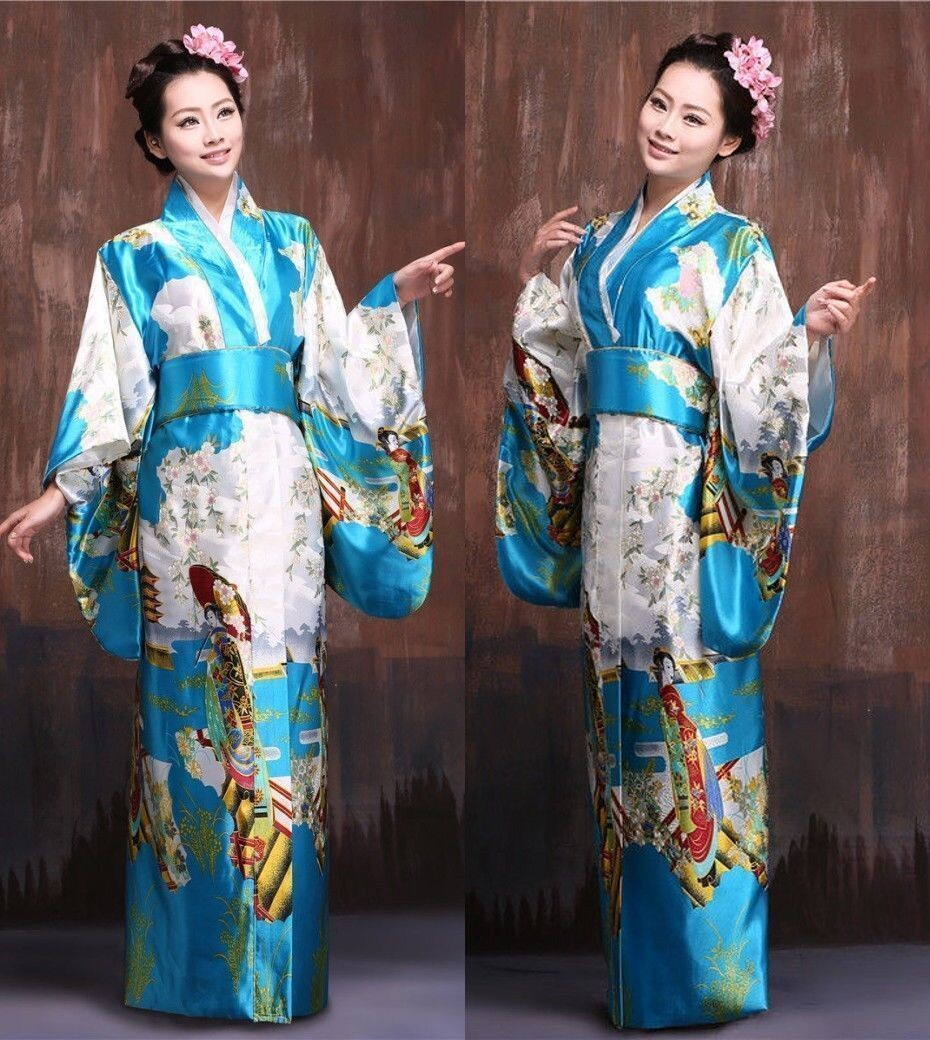 Hot Hi Q Japanese traditional Hiyoku Vintage women's ...