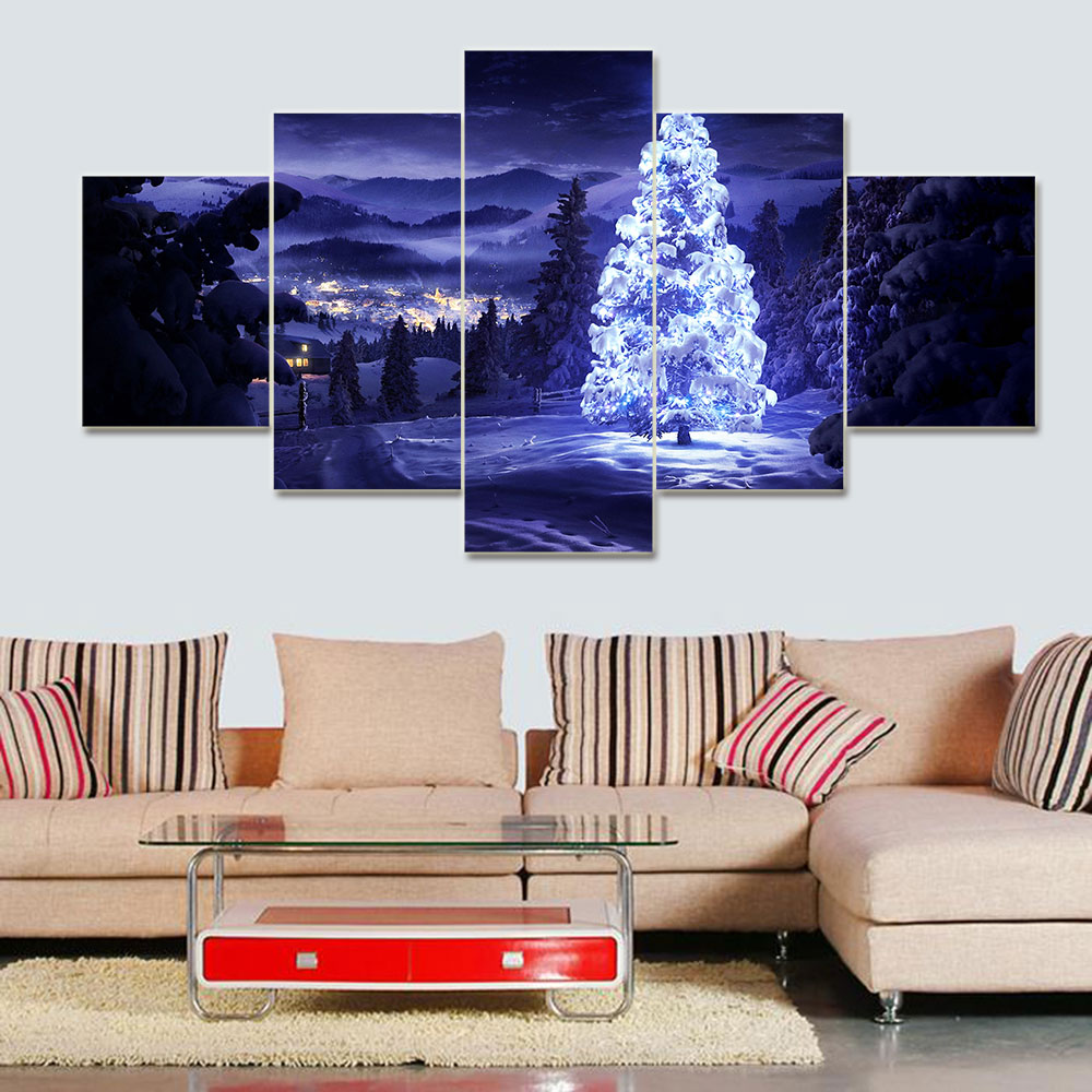 5 Pieces Set Modern Home Decoration Christmas Aesthetic