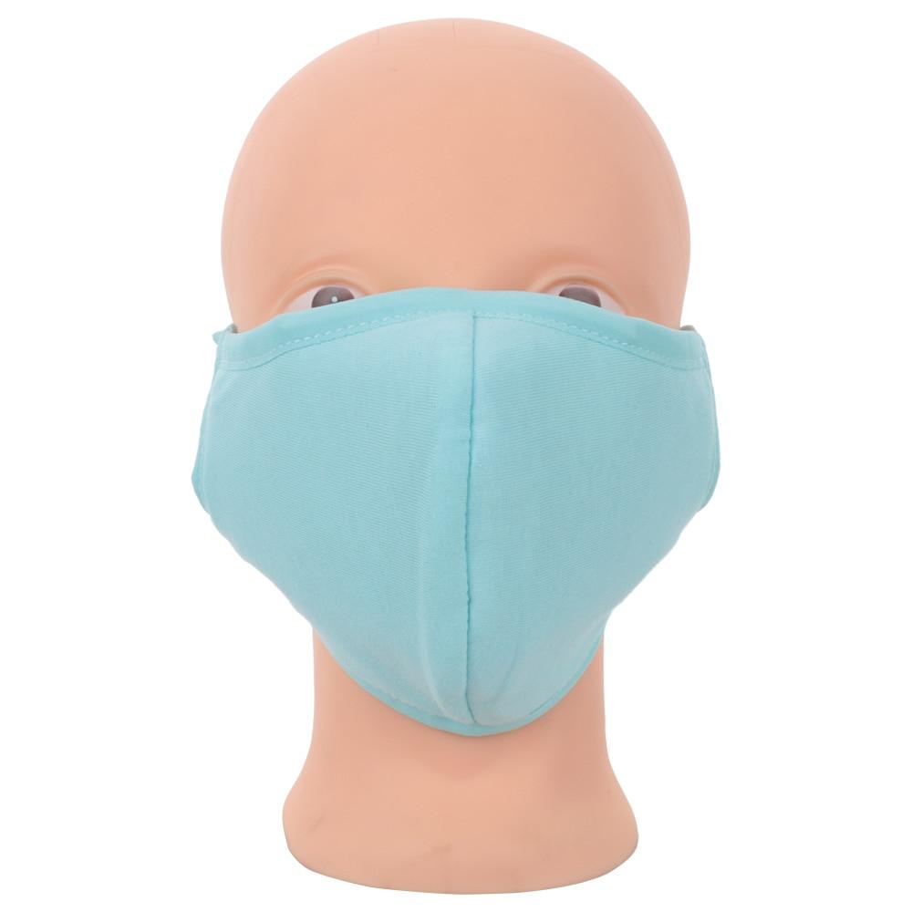 1 Pcs Unisex Mode Winter Warm Zubehör Mund Maske Feste Vier Farbe Baumwolle Komfortable Gesundheit Radfahren Anti-staub Gesicht Maske Top Wassermelonen