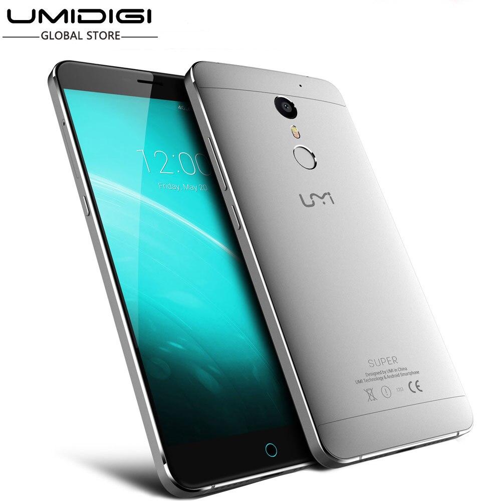 Цена за Umi супер телефон 5.5 дюймов android 6.0 mtk6755 lte окта ядро 4 г ram 32 г rom 4000 мАч быстрая зарядка 13.0mp touch id type c мобильный телефон