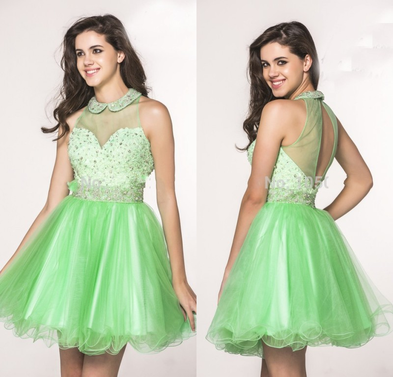 Manzana verde cocktail dresses
