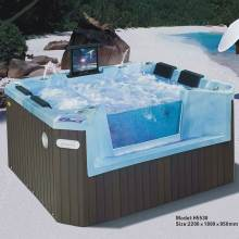 Outdoor Whirlpool Spa Bad Whirlpool Spa Zwembad Met Dvd En Tv(China)