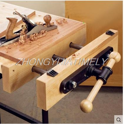 Woodworking tool, Woodworking clamp guide rod Double connecting rod Table clamp clamp Work table console clamp.