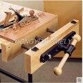 Holzbearbeitung werkzeug  Holz clamp guide rod Double pleuel Tisch klemme klemme Arbeit tisch konsole clamp.-in Handwerkzeug-Sets aus Werkzeug bei