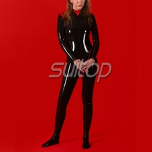 Fantasy latex body suit catsuit rubber jumpsuits for woman SUITOP fancy