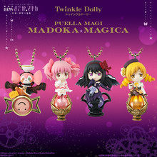 4pcs Japanese Anime Action Figure Twinkle Dolly Puella Magi Madoka Magi