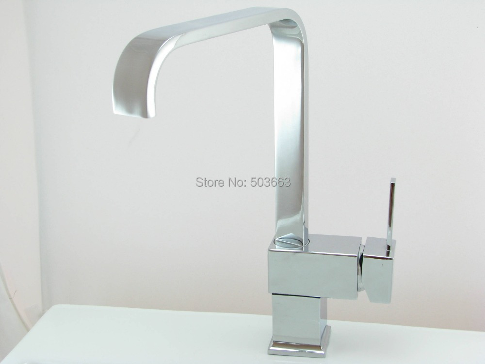NEW CHROME KITCHEN BAR VESSEL SINK FAUCET TAP YS 8520 Mixer Tap Faucet