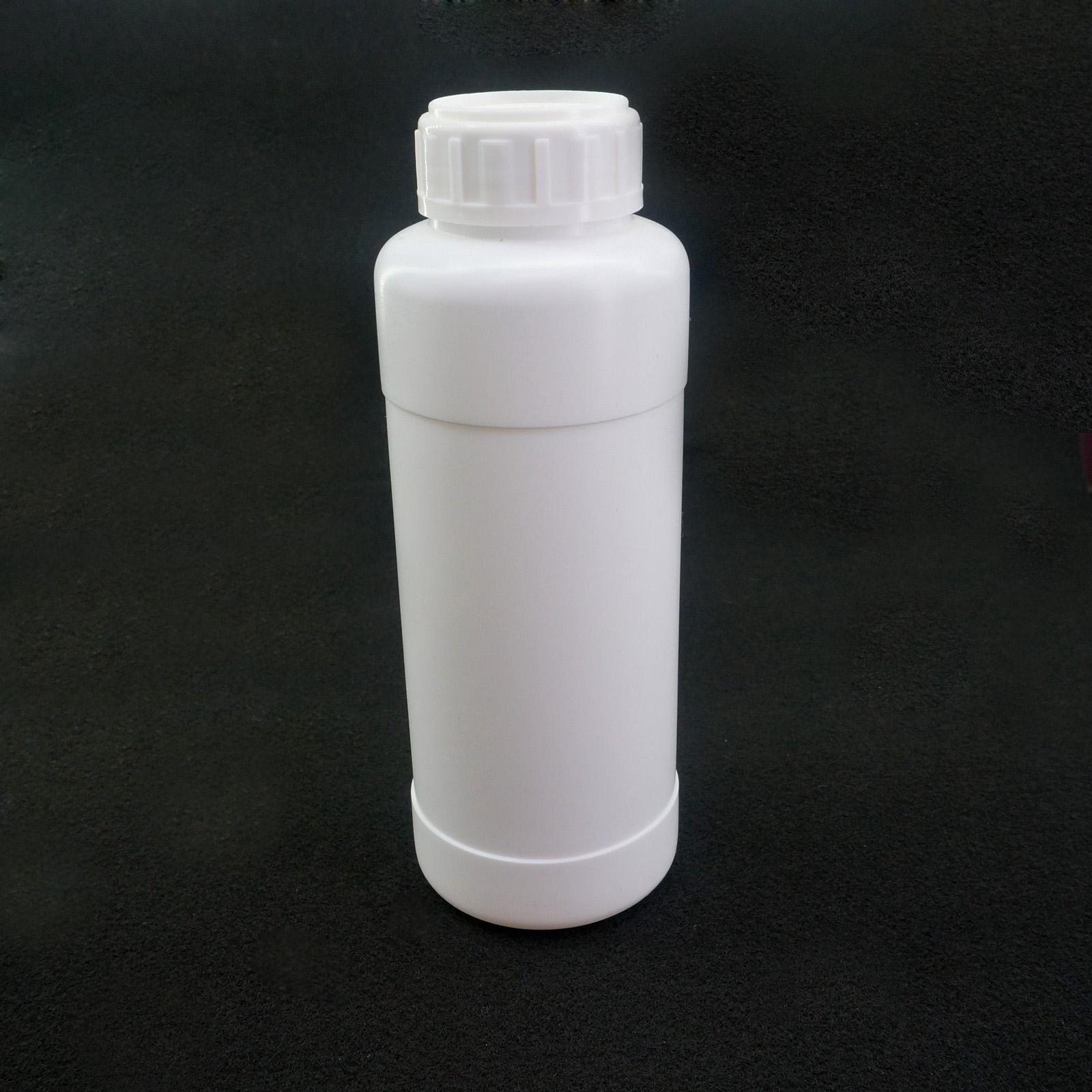 500ml Fluorinated HDPE Bottle Chemical Resistance Lab Science