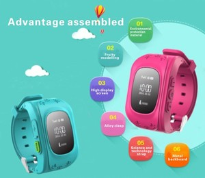 Image 5 - Q50 Smartwatch ילדים GPS שעון חכם ילדי תינוק טלפון שעונים SOS Tracker Antil איבד Finder מיקום Locator 2G SIM PK Q90 Q02