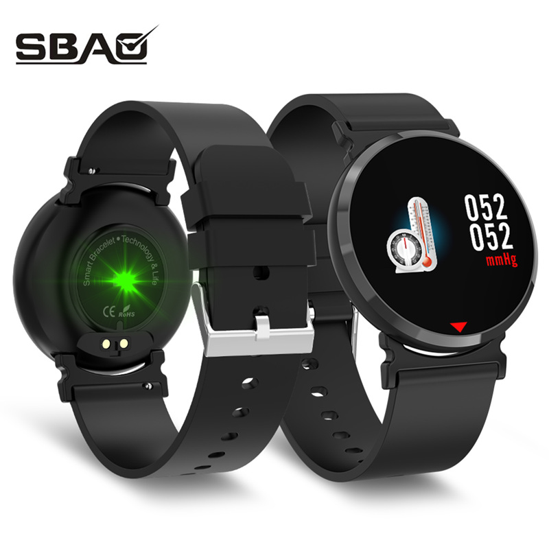 Smart Wristbands 2019 Fashion Steel Buckle Adjustable Smart Watch Sports Heart Rate Tracker Blood Pressure Calorie Detection Call Photo Smart Bracelet Wearable Devices