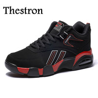 Thestron Men Running Sneakers Winter Shoes For Men Sports Mid Top Sport Brand Sneakers Men Good