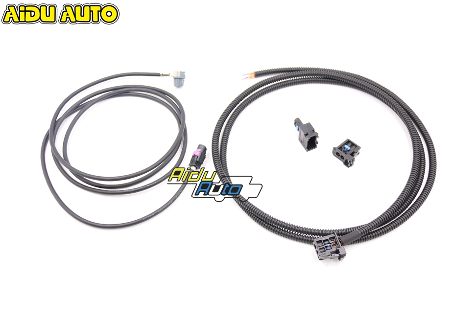 liquid Crystal Virtual Cluster LCD Instrument installation Install Harness Wire For Audi A4 A5 B9 8W