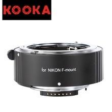 KOOKA KK-N25A Aluminium Alloy AF Extension Tube with TTL Exposure Close-up Image for Nikon SLR Cameras (25mm)