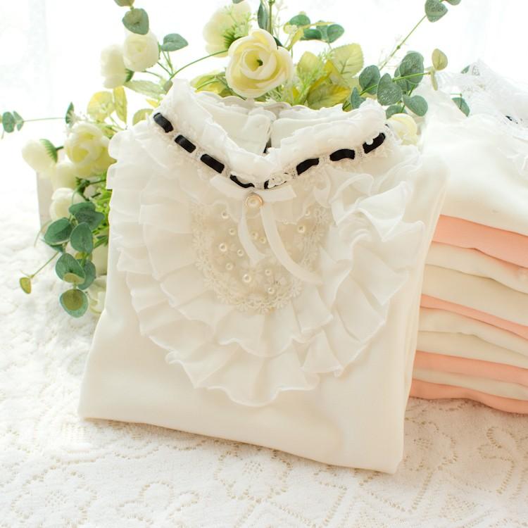 HTB1a3rkNpXXXXaUXpXXq6xXFXXX8 - 2017 Autumn Girls Turtleneck T-Shirt Cotton Children White Pink Shirts Baby Girls Clothing Long Sleeve Bottom Tops For Kids