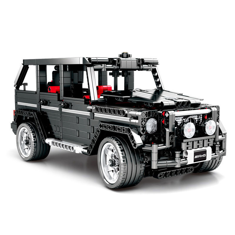 DIY Technic Series Building Blocks Banz G500 Car Bricks Model Educational Birthday Toys for Kids Gifts