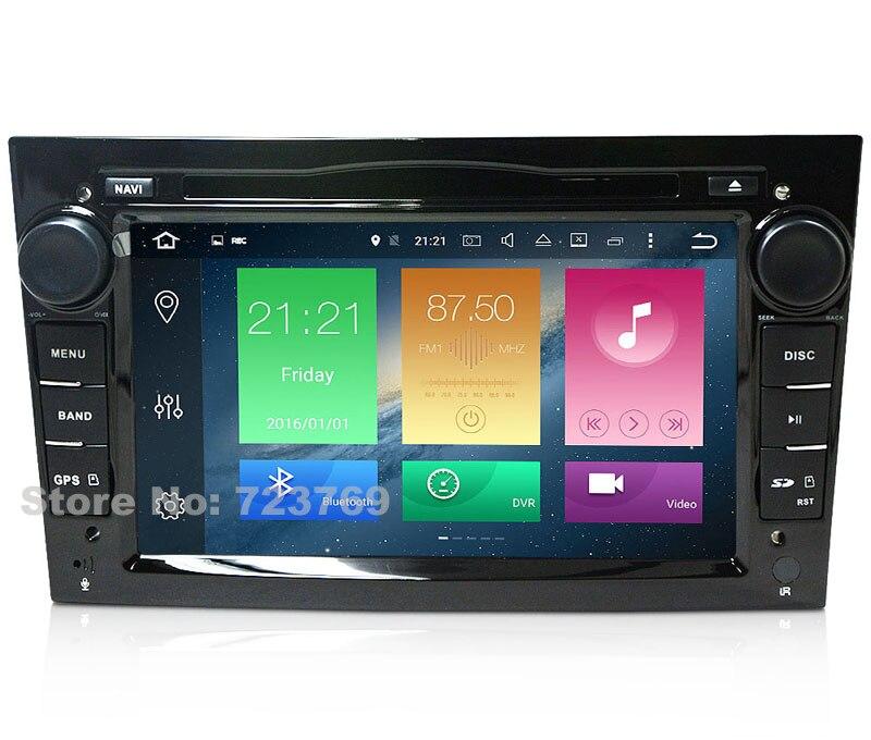Android 6.0 Car Radio DVD GPS for Vauxhall For OPEL Astra H Corsa Vivaro Meriva Zafira B Omega Tigra Support TPMS DVR DAB+ RDS