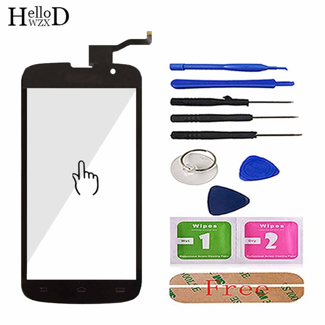 5 Mobile Touch Screen For Philips Xenium W8555 Front Panel Touch Screen Sensor Phone Glass Replacement Digitizer Tools