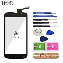 5 נייד מגע מסך עבור פיליפס Xenium W8555 קדמי לוח מגע מסך טלפון חיישן זכוכית החלפת Digitizer כלים