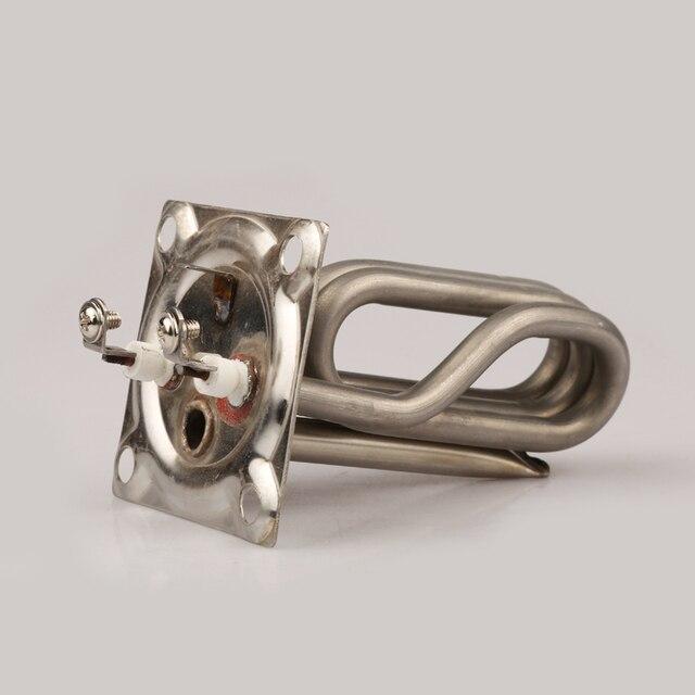 """2 """"X2""""(67x67mm) Squre capuchon éléments chauffants 3KW 220V pour générateur de vapeur haut entraxe 52x52mm"""