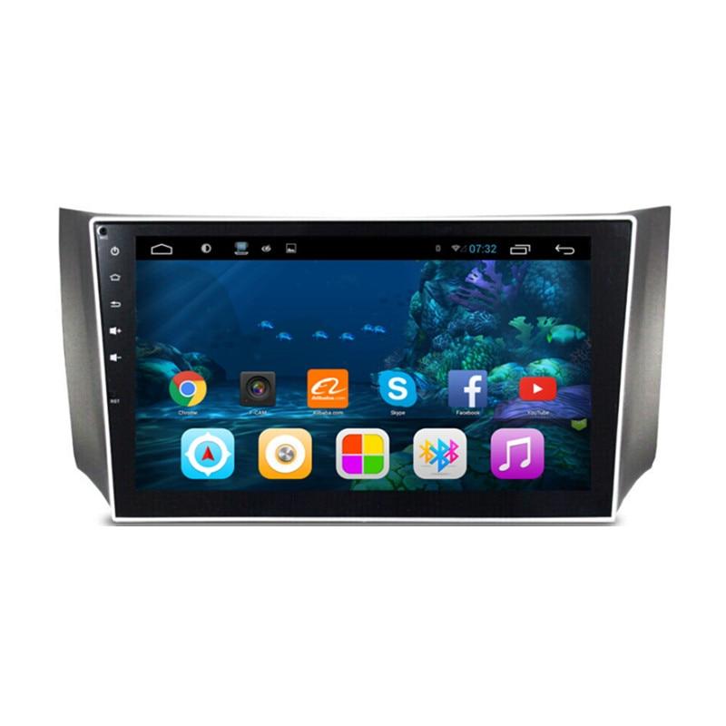 10,2 мультимедиа для Android Стерео GPS Навигация DVD Радио Аудио стерео система со спутниковой навигацией головное устройство для Nissan Sylphy B17 Sentra