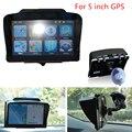 5 Polegada Auto Car Veículos GPS Universal Sombrinha Sunshield Pala de Sol Guarda-chuva de Sol Sombra Acessórios de Navegação GPS