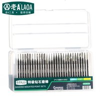 LAOA High Quality Diamond Polished Rod 3MM Jade Carving Tool Electric Grinding Unit