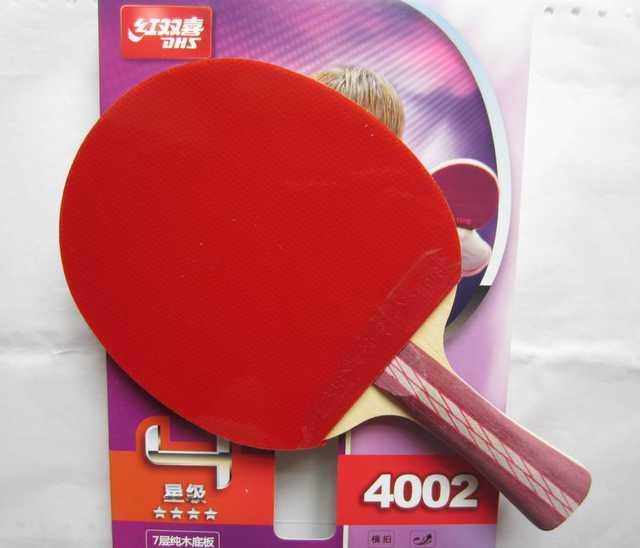 10077159d Original 4002 pcs DHS 4006 raquetes de tênis de mesa com 4 estrelas  espinhas em borrachas