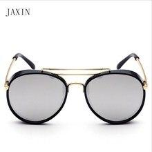 JAXIN Fashion Round Kids Sunglasses Children Eyes Retro Sun Glasses Boys Girls Kawaii okulary UV400 Gafas de sol