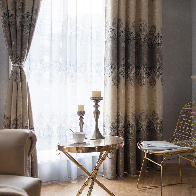 Luxury Curtains for Bedroom Window Curtain for Living Room ...