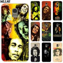 MLLSE Reggae Bob Marley แฟชั่น Clear สำหรับ Samsung Galaxy J2 J4 CORE J3 J5 J7 2016 2017 EU j8 J6 2018 J4 Plus J7 Prime(China)