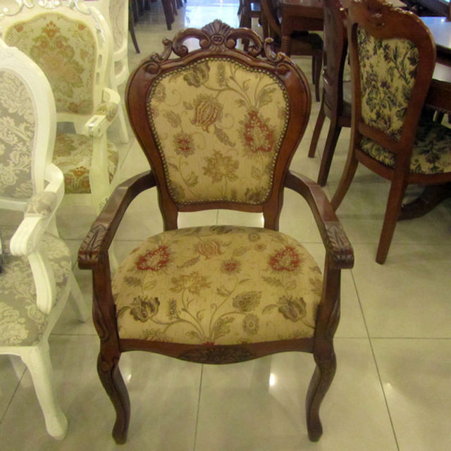 Family dining chair, hotel dining chair, wood dining chair,European style