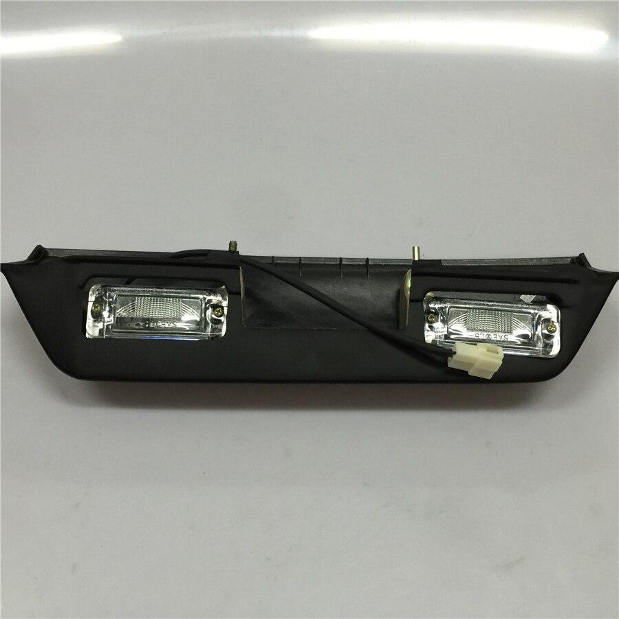 STARPAD pour ce dernier Mitsubishi V31 V32 V33 Jones noir édition voiture plaque d'immatriculation lampe lumière auto pièces