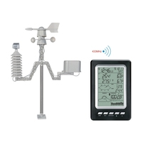 Wireless Weather Station LCD Rainfall Wind Chill Speed Direction Atmospheric Pressure Temperature Humidity Meter Weather Alarm