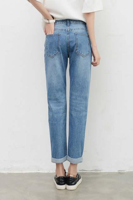 4a016503933 Online Shop Tengo New Fashion Women High Waist Jeans Boyfriend Brand Female  Harem Pants Women Casual Jeans Ripped Jeans for Women Plus Size