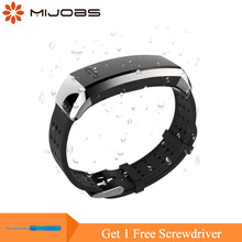 Correa TPU Mijobs para Huawei Sport Band 2 pro B29 B19 Correa Smart Watch Wristband Replacement para Huawei Watch Pulsera de silicona