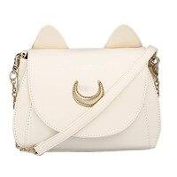374da8b5005 New Cosplay Sailor Moon PU Leather Women Handbag Shoulder Bags Satchel Tote