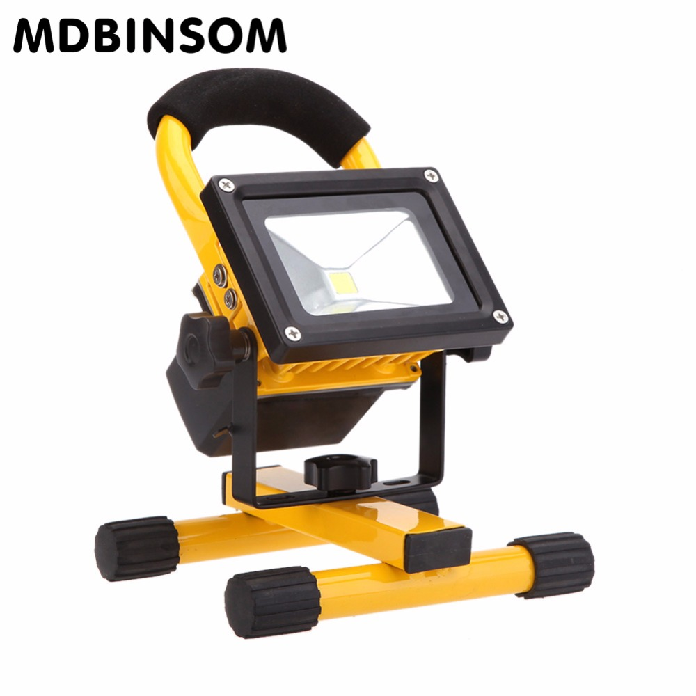 Outdoor Lights Portable: Waterproof IP65 COB LED 10W 20W 30W 30W LED Flood Light
