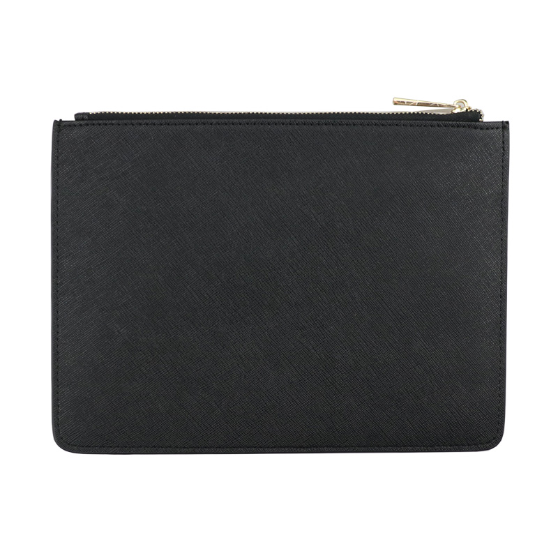 Ladies customed initial letters genuine saffiano leather pouch clutch bag with card slots холодильник с морозильной камерой pozis rk 149 graphite