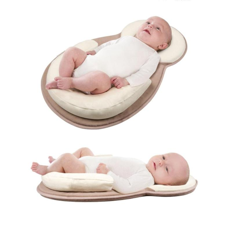 Portable Baby Crib Sleep Pillow Multifunctional Nursery Travel Foldable Bed Infant  Cradle Multifunction Sleep Positioner Pillow Детская кроватка