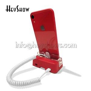 Image 4 - 6 個の携帯電話のセキュリティスタンドアクリル携帯電話盗難防止デバイスホルダーブルースマートフォン表示警報システムアップル店