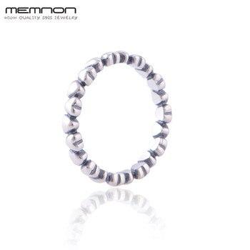 8bc9614bbc4f Memnon Vintage de corazón a corazón anillos de joyería de plata 925 corazón  anillo de Plata de Ley 925 anillos de plata para las mujeres