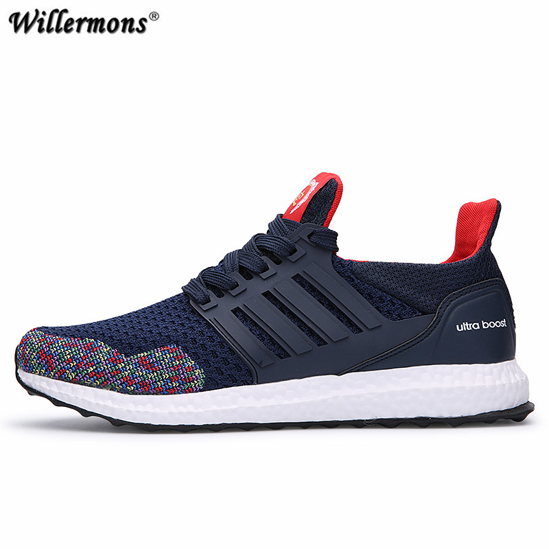 Men's Mesh Breathable Outdoor Running Sports Shoes Mens Wearable Walking Sneakers Chaussures Hombre kelme 2016 new children sport running shoes football boots synthetic leather broken nail kids skid wearable shoes breathable 49